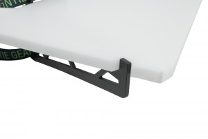 Montie Gear Camping Shelf - Great way to organize your camp kitchen and have a clean surface to prepare your food.