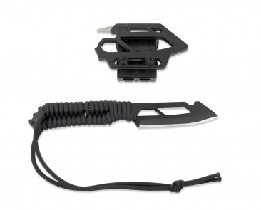 Montie Gear Knife in Tactical Black