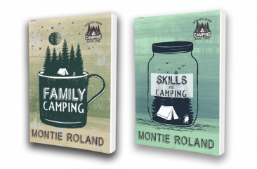 Family Camping Set- Montie's Guide to Camping Book 1 and 2