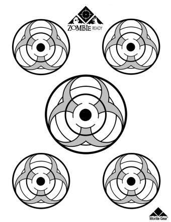 Zombie Apocalypse Targets - Downloadable Version - Free with Slingshot or Shooting Rest Purchase