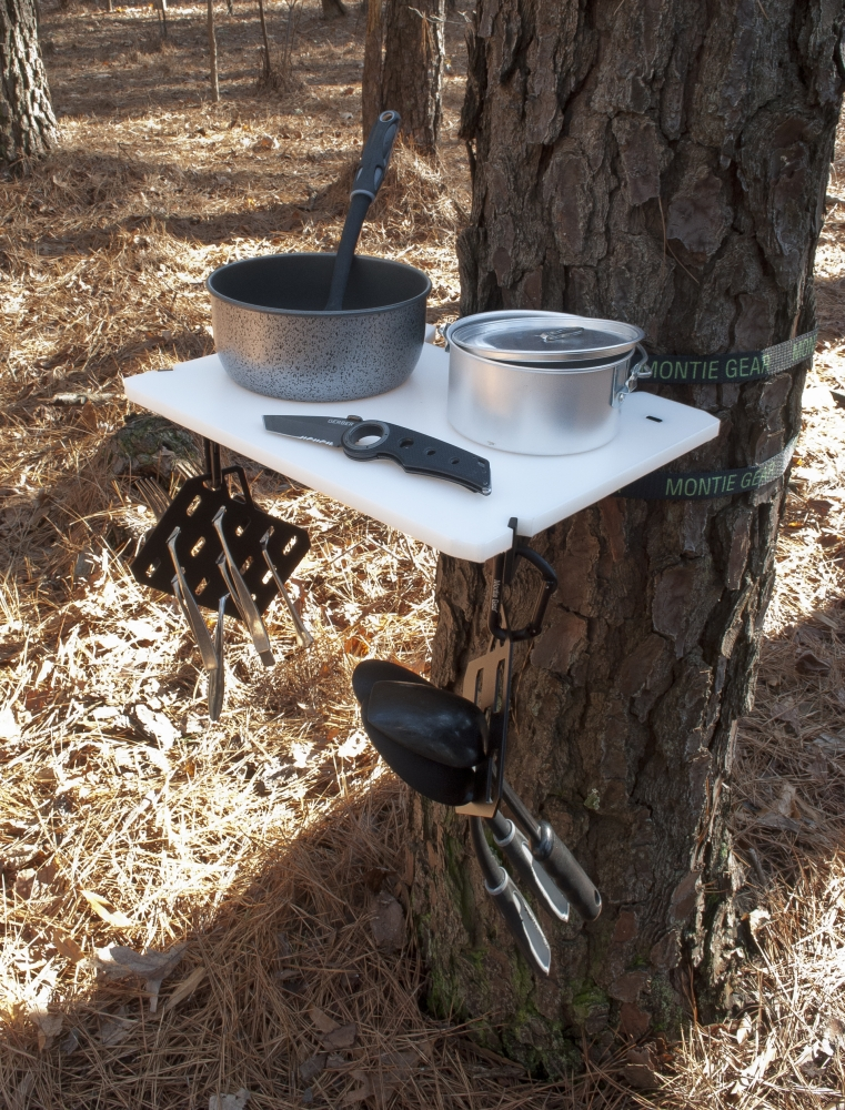 camping shelf | montie gear